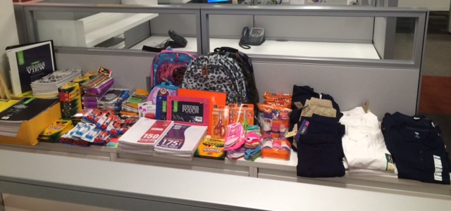 First Annual School Supply Delivers to Governor Village Schools