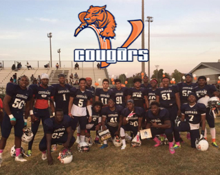 Vance Cougar Football team 2016