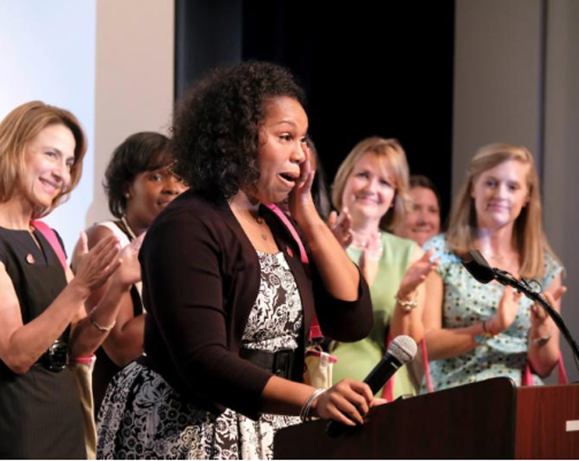 University City educator is CMS Teacher of the Year