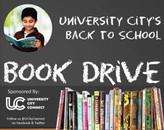 University City Connect Book Drive
