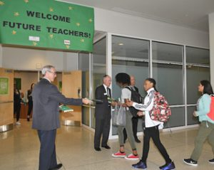 First day at Charlotte Teacher Early College